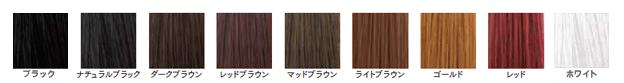 プラスヘア 増毛エクステ基本カラー