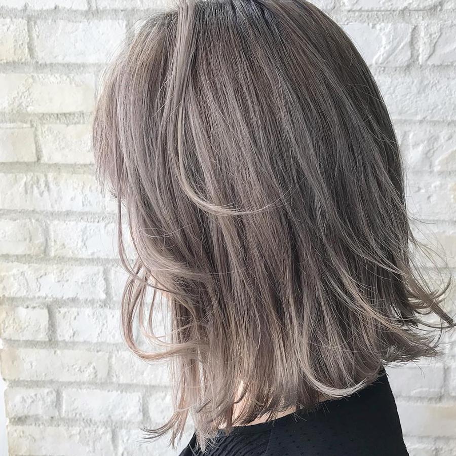 ブルベ夏 髪色