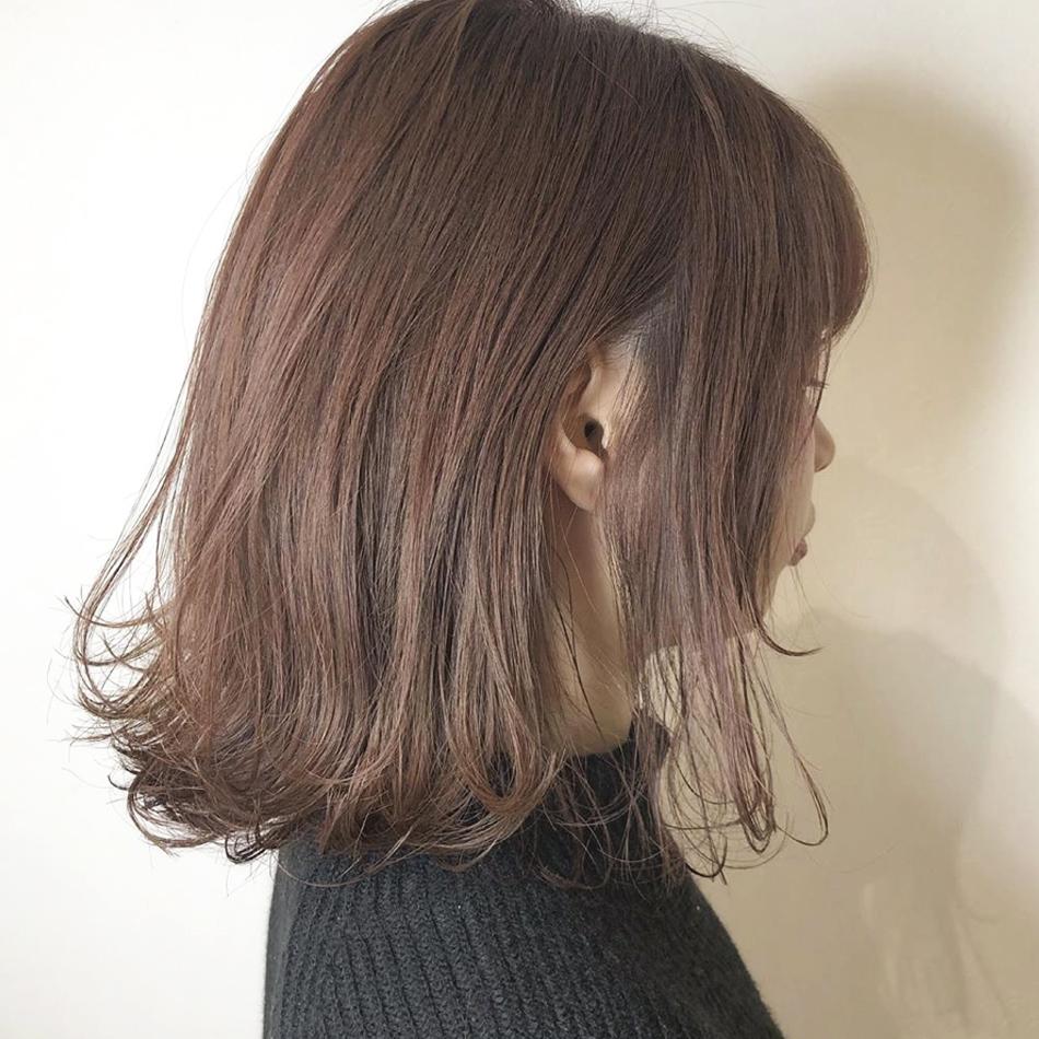 秋 ミディアムヘア