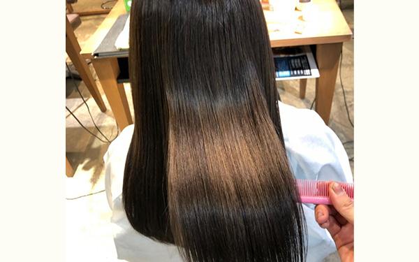 酸熱トリートメント 髪質改善