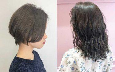 【2020】秋冬オリーブカラーで、赤みを消して透明感たっぷりの髪色に。