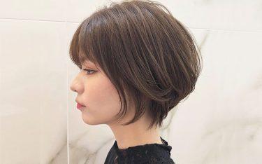 乾かすだけで決まるショートヘア!黄金バランスの小顔ショートが人気NO.1