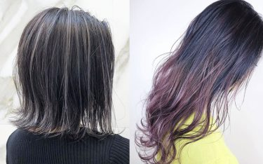 地味色回避!バレイヤージュorハイライトで冬の髪色を華やかに♡