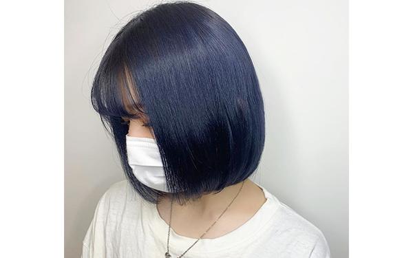 すっきりショートヘア