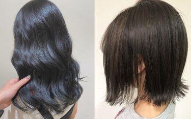 2020年冬に大注目の暗め髪色で、大人っぽ美人見えヘア♡