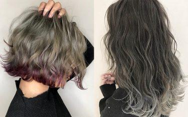 毛先の髪色で遊ぶ『裾カラー』で、人とは違うオシャレなカラーにトライ!