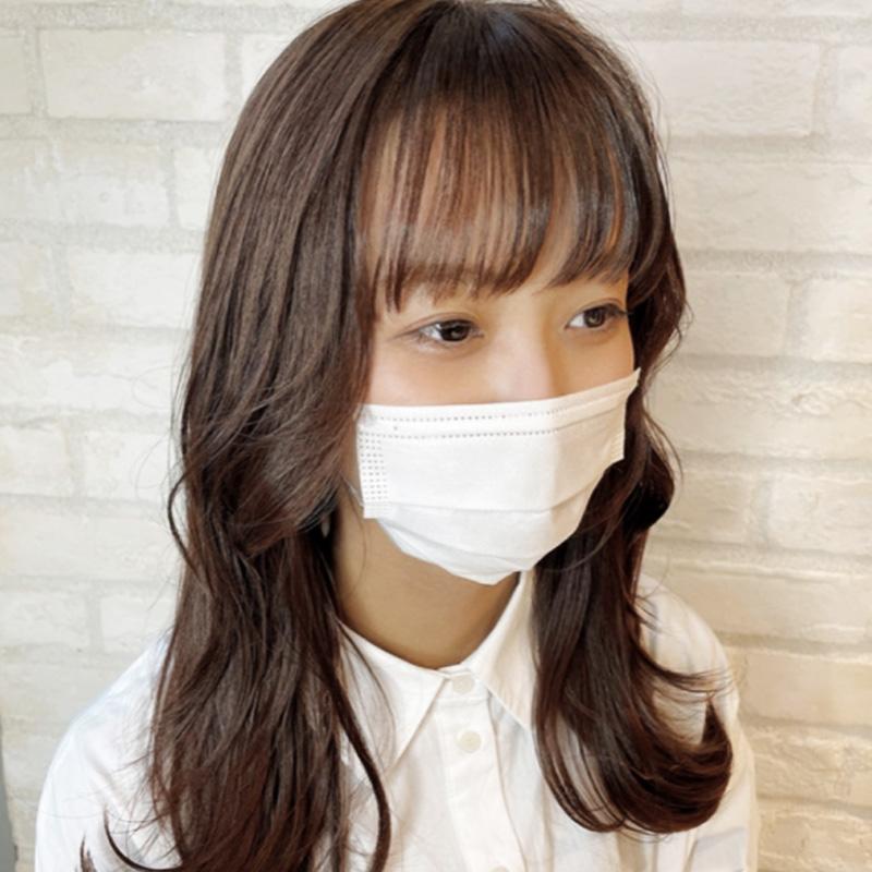 韓国風レイヤーカット