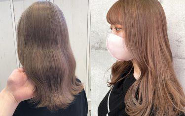 【明るめ・暗め】ベージュカラーで柔らかく透明感のあるモテ髪色に♡トレンドヘアカラーカタログ