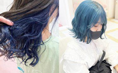 発色重視!夏はカラフルなヘアカラーで目立っちゃおう!鮮やかな髪色に夢中♡