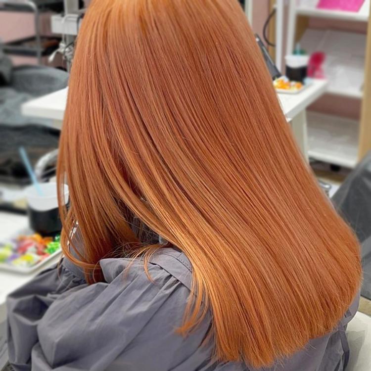 ハイトーンオレンジカラー