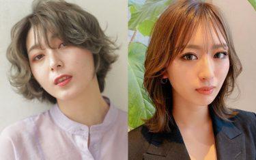 【2021】丸顔さん向けヘアカタログ!顔型の悩みを解消しながら小顔美人見え♡