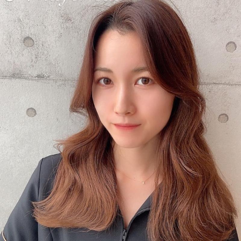 韓国風レイヤーロング
