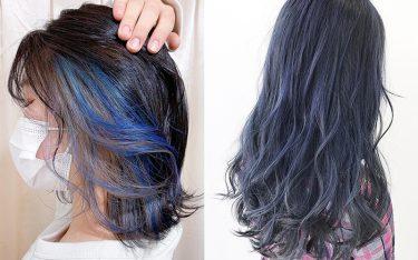 2021年の夏はブルーのヘアカラーに注目♡透け感たっぷりの今どき青髪カタログ!