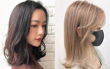 【2021】秋に向けてミディアムヘアで美人見せ♡伸ばしかけでもかわいいミディアムカタログ