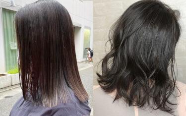 ツヤ感重視!秋冬の暗めヘアカラー特集♡ツヤと透明感が魅力のトレンド髪色カタログ