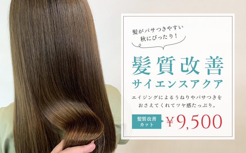 尼崎 髪質改善